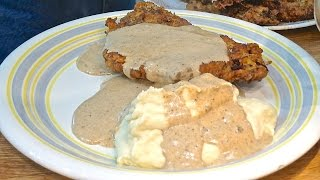 Chicken-fried Steak, The Low-carb Way