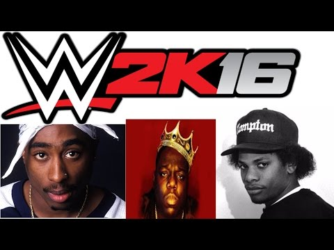 WWE 2K16 - Biggie VS. 2Pac VS. Eazy-E