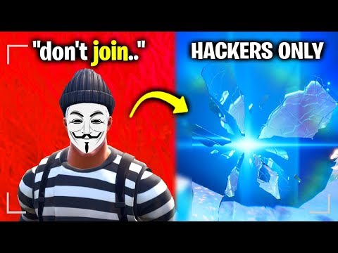 I Found A Hackers SECRET Fortnite Map..