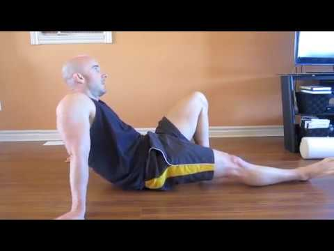 tight hip flexors inflicting leg pain