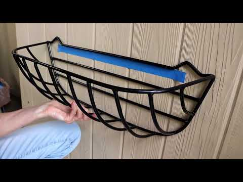 How to Install A Window Hayrack