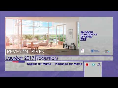 Inventons la Métropole du Grand Paris - Les lauréats 2017