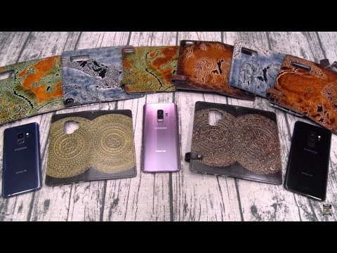 Mayan Bronze Leather Case For Most Phones - 100% Handmade!