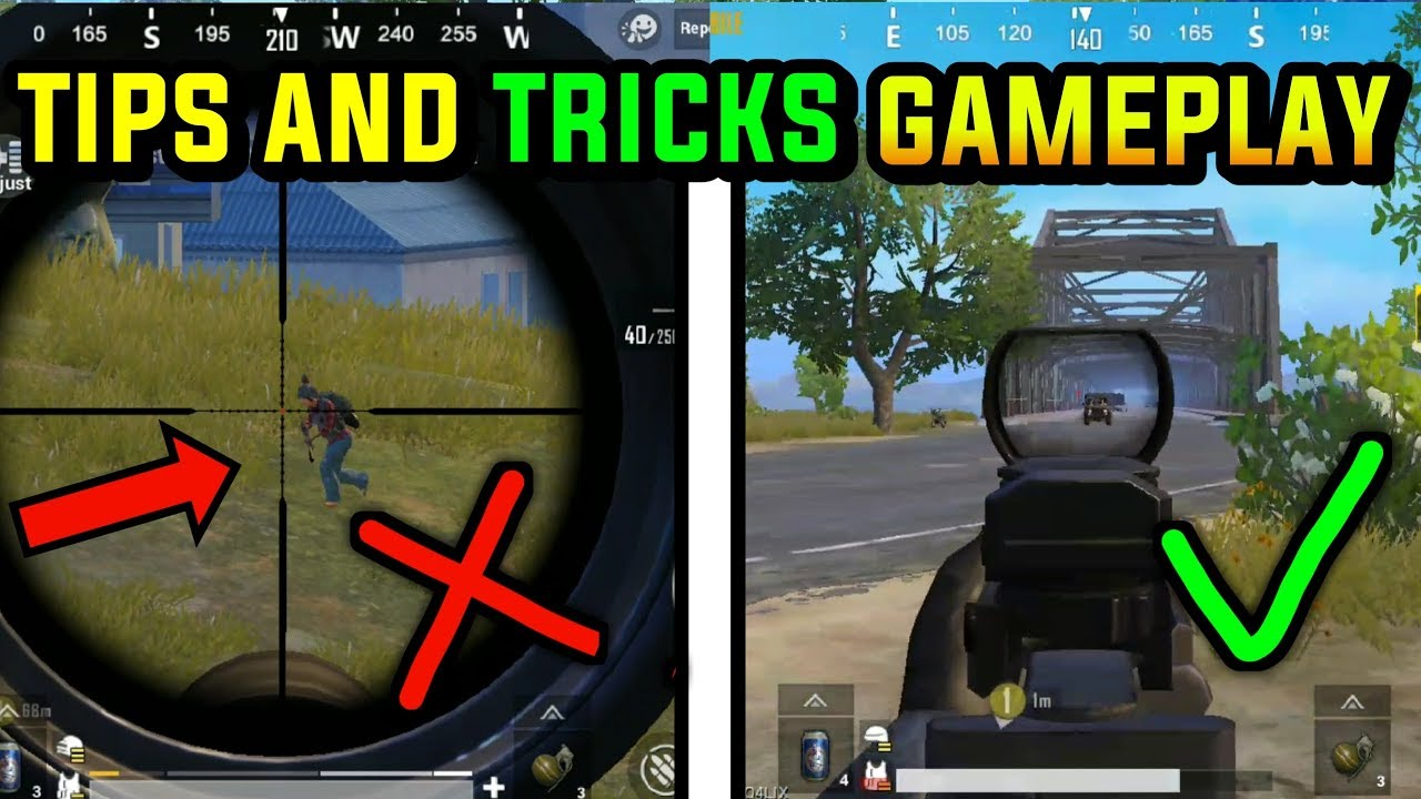 Official Pubg Mobile Gameplay: TIPS AND TRICKS GAMEPLAY PUBG MOBILE
