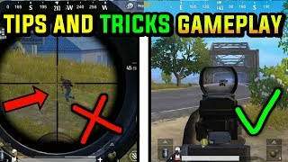 TIPS AND TRICKS GAMEPLAY PUBG MOBILE | BTX SIDDHARTH