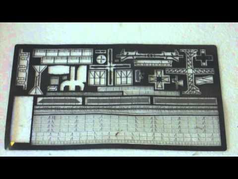 USS Knox resin models build: part 2