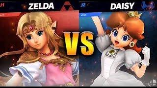 Daisy vs Zelda 2