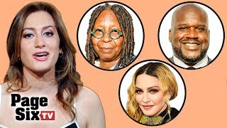 The View's Juicy Secrets, Madonna Gets Denied, and DJ Shaquille O'Neal Spins Miami | Page Six TV