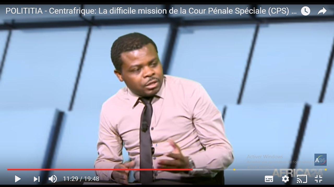 POLITITIA   Centrafrique La difficile mission de la Cour Pénale Spéciale CPS 13