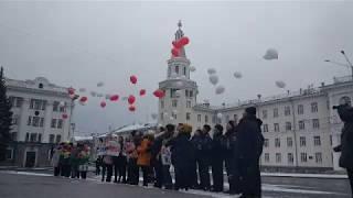 В Чебоксарах запустили в небо 35 шаров в память о жертвах ДТП