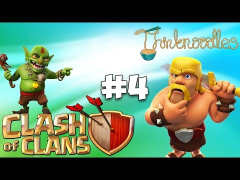 Clash Of Clans : Ep 4 - Town Hall Level 3!