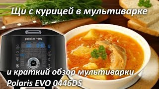 Щи в мультиварке с курицей рецепт и обзор мультиварки Polaris EVO 0446DS