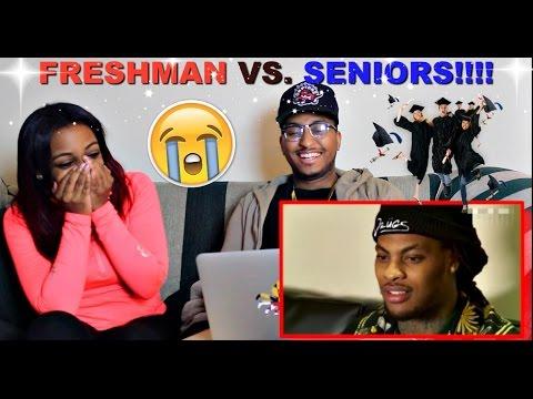 High School Freshman Year vs Senior Year\ - seniors high school