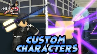 NEW Creating a Custom Character in Anime Cross 2! Rimuru Tempest and Kirito Showcase! | Roblox