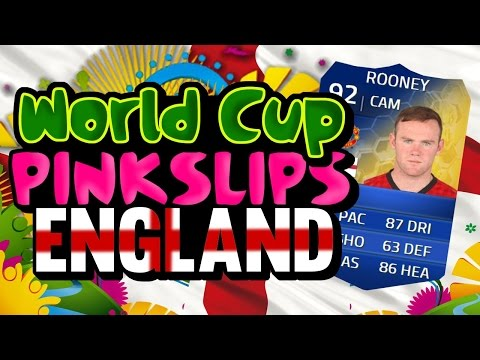 FIFA 14 ULTIMATE TEAM | WORLD CUP PINK SLIPS | TOTS ROONEY