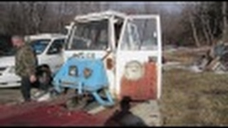 Cushman Meter Maid Truck.