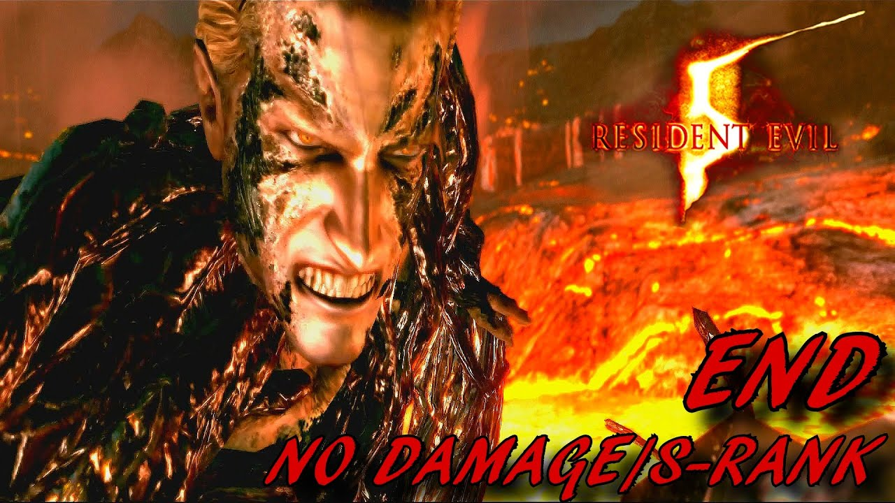 Resident Evil 5 Hd Walkthrough S Rank End Wesker Boss Battle
