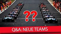 Gibt es bald neue F1-Teams? - Formel 1 2019 (Q&A)