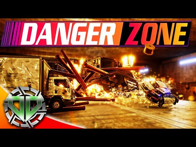 Danger Zone Gameplay :  Crashing Cars for CASH! (PC Let's Play!)