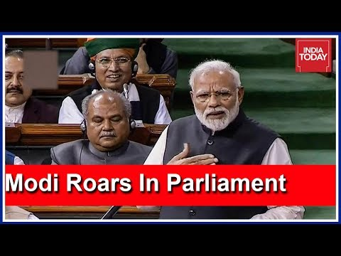 PM Modi Launches Scathing Attack On Congress In Lok Sabha | Watch Speech Highlights