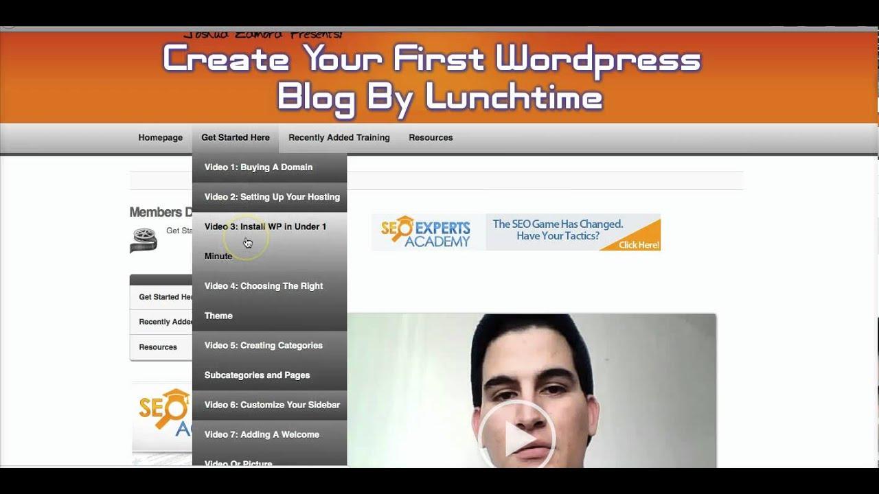 Wordpress For Dummies How To Use Wordpress Youtube
