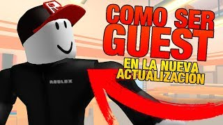 as GUEST on ROBLOX in the new update! (SECRET!)