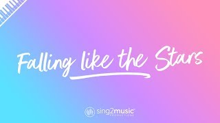 Falling like the Stars (Piano Karaoke Instrumental) James Arthur
