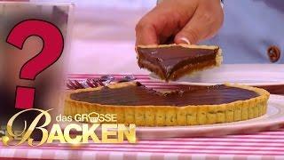 Tarte au Chocolat mit flüssigem Karamell-Kern | Verkostung | Das große Backen 2016 | SAT.1