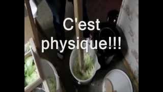 Fabrication De La Choucroute Artisanale Maison - Recette - Making Homemade Sauerkraut