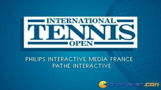 International Tennis Open gameplay (PC Game, 1992)