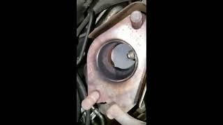 O2 sensor change in 2001 mitsubishi eclipse gt (part 2)