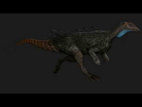Saurian Thescelosaurus Sprint (WIP)
