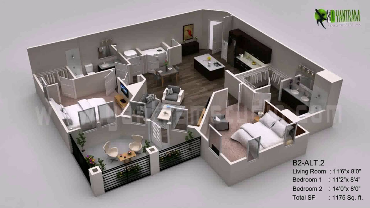 House plans 700 square feet youtube for 700 square feet house