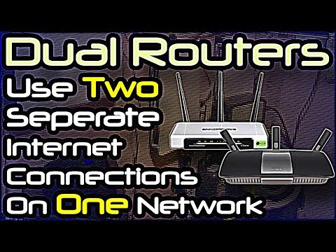 Dual Routers - Use Two Separate Internet Connections On Same Network