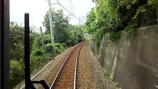 【前面展望】JR四国 予讃線 多度津行き7000系普通列車 今治→伊予西条