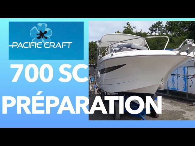 Pacific Craft 700 Sun Cruiser  03 Finitions Extérieures  Grand Piquey Cap Ferret