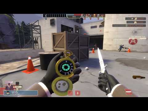 Team Fortress 2 Spy Gameplay