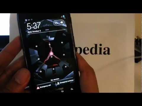 Motorola Droid Razr XT912 Verizon: HARD RESET PASSWORD REMOVAL how-to