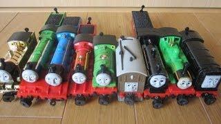 きかんしゃトーマス おもちゃいっぱい トーマス パーシィー ゴードン ヘンリー など thumbnail