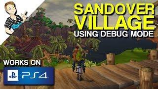 Jak II Sandover Village using Debug Mode