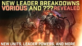 Halo Wars 2 - ATN Voridus New Leader Gameplay Revealed! New Units and Leader Powers Showcase