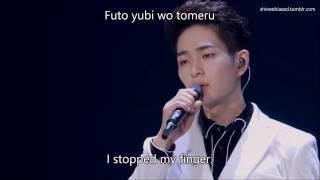 「TOKYO DOME」Taemin & Onew - Rainy Blue [LIVE] (English|Romanized Lyrics)