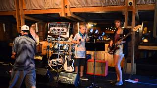 Lead Feather (10 year old guitarist) 7-21-14