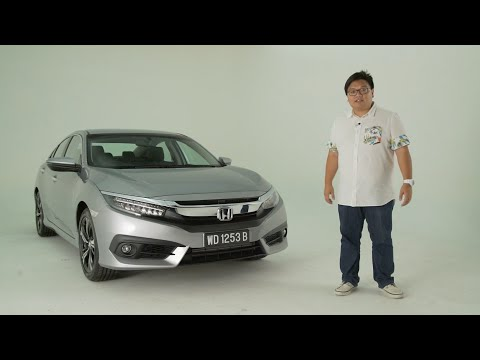 2016 Honda Civic 1.5 VTEC Turbo Malaysian walk-around tour - paultan.org