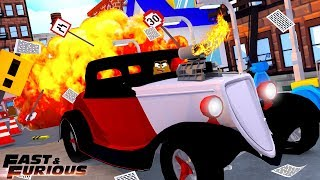 ROBLOX FAST AND THE FURIOUS - NEW HOT ROD UPDATE!!