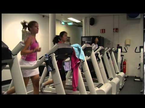 sports center in tilburg university - youtube