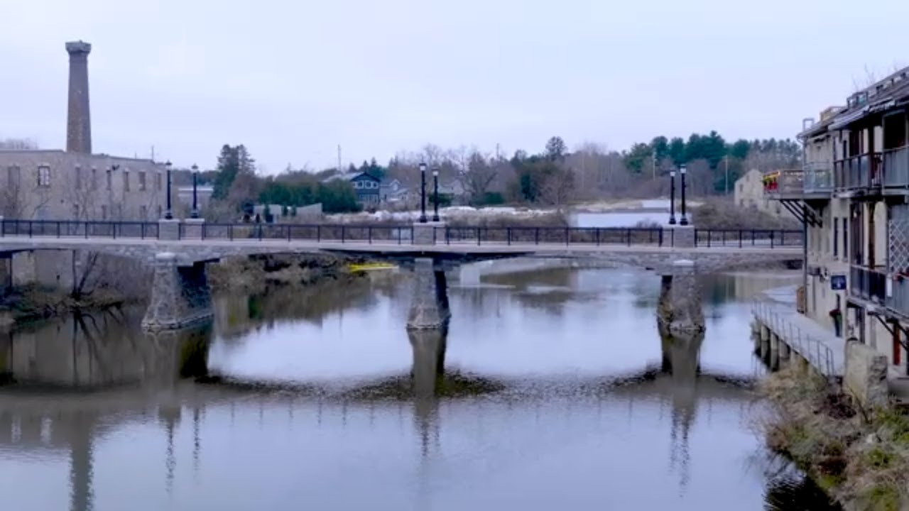 Elora walking bridge is now open