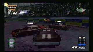 Destruction Derby Arenas PS2: Colosseum