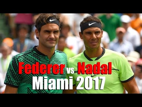 How Roger Federer Defeated Rafael Nadal In Miami 2017