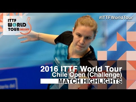 2016 Chile Open Highlights: Rachel Moret vs Maria Lorenzotti (Final)